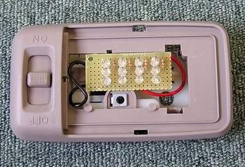 LEDライト設置